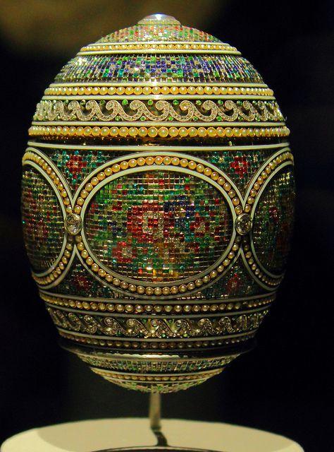 Mosaic Faberge egg