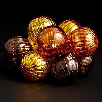 ... Ball Bauble Christmas Lights, x10 online at JohnLewis.com - John Lewis
