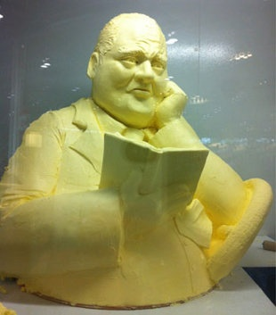 Toronto Mayor Rob Ford made into massive butter sculpture