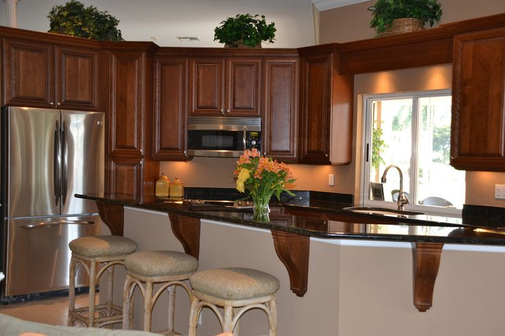 Fort myers amp naples kitchen bar remodel kitchens not white pinter
