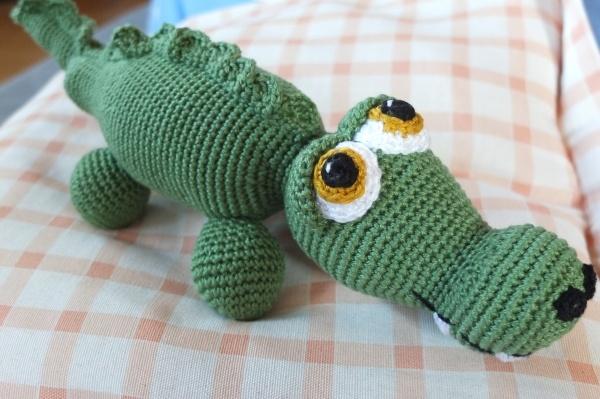 Jacques the Crocodile Amigurumi Crochet Pattern pattern by ...