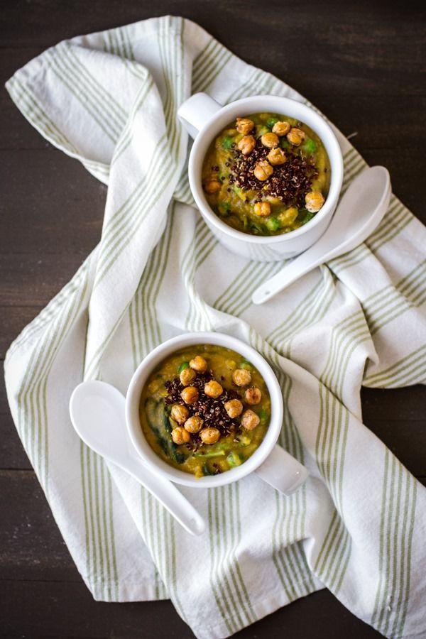 Thanksgiving Leftovers: Red Lentil Mashed Potato Soup | edibleperspective.com