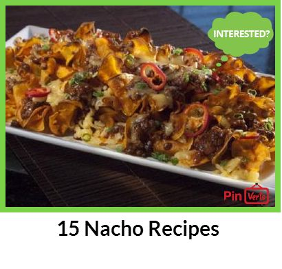 doesnt love a pile of nachos with all the fixings? If youre nacho