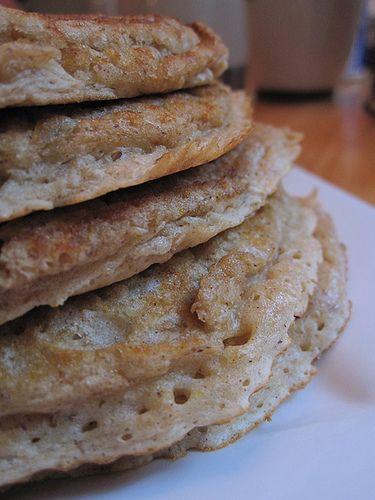 Blueberry oatmeal pancakes | Tasty Savory | Pinterest