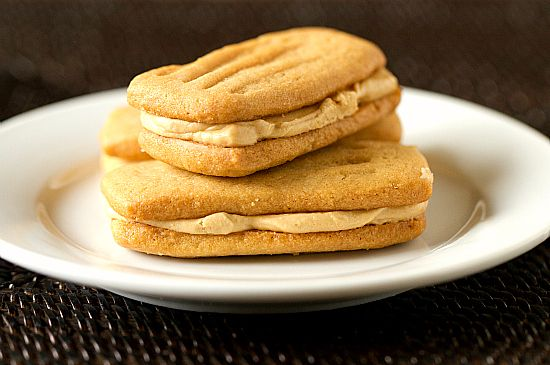 peanut butter sandwich cookies.....there are a LOt of cookie/baking ...