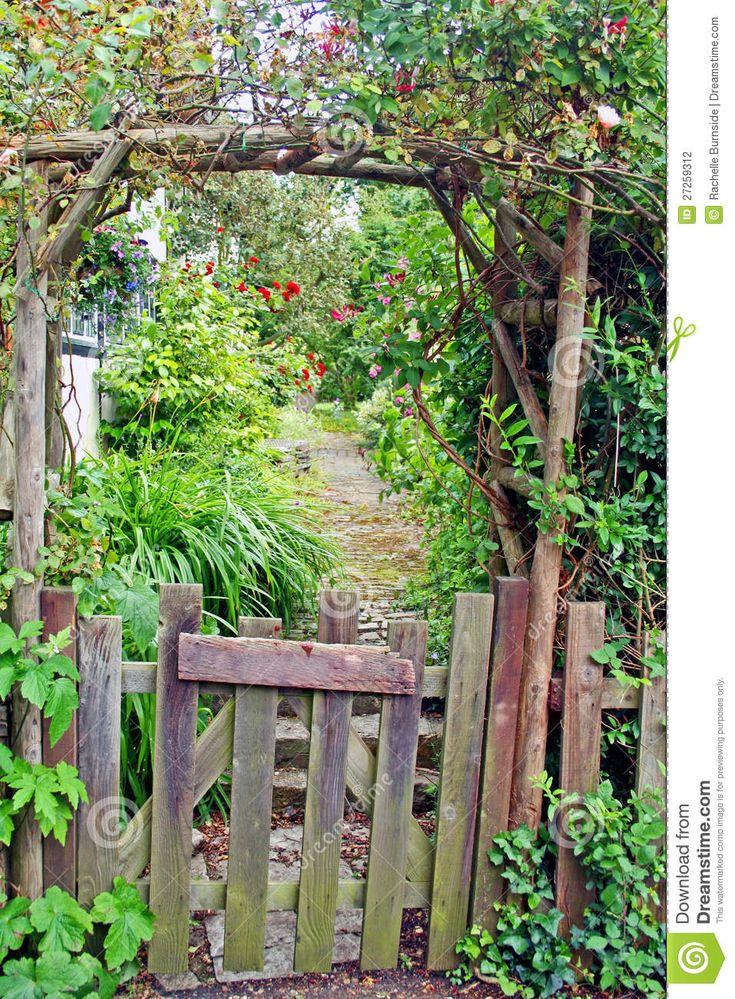 Rustic garden gate garden n yard ornaments pinterest for Rustic garden gate designs