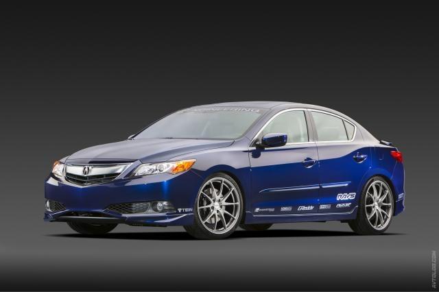2018 Acura ILX likewise 2013 Acura ILX 'Street Build' SEMA Concept ...