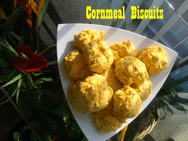 Cornmeal Biscuits | Food | Pinterest