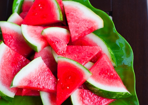 tequila soaked watermelon | skinny | Pinterest
