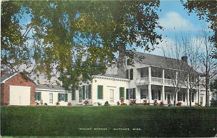 MS-NATCHEZ-MOUNT REPOSE-PLANTATION-HENRY CLAY-K12395 - bidStart (item 29160843 in Postcards... Other)