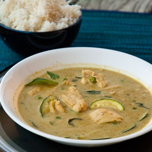 Thai Green Curry in a Hurry