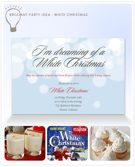 White christmas is an elegant affair it harkens back to the irving