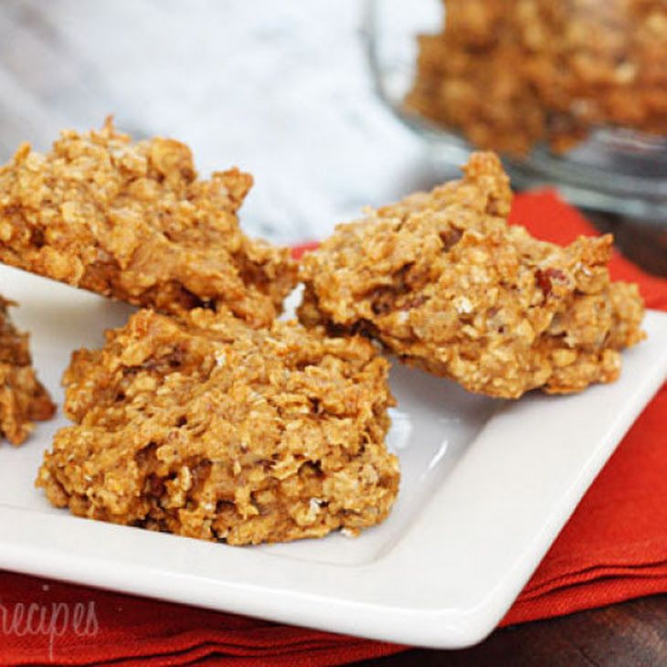 Pumpkin Spiced Oatmeal Pecan Cookies Recipe