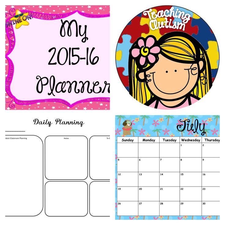 Daily Planner August 2015 – Printable Editable Blank
