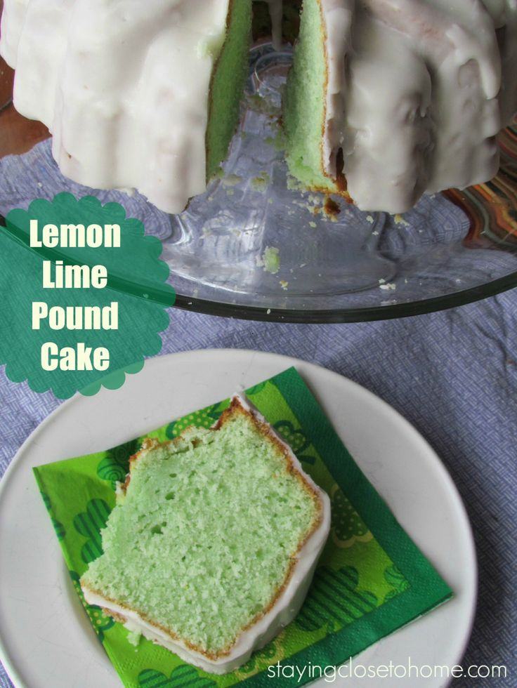 Cherry-Limeade Pound Cake Recipe — Dishmaps