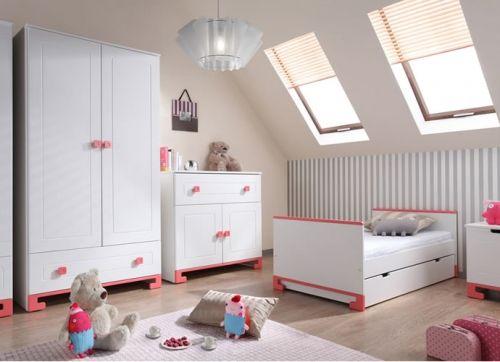 Babyzimmer Set Malaga Weiß-Rosa Kinderzimmer Pinterest