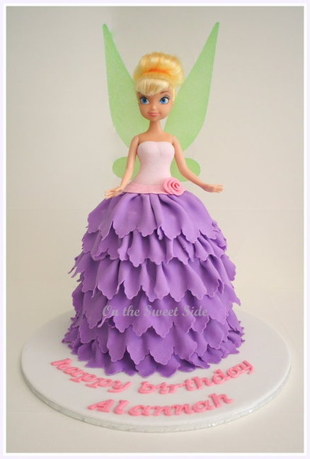Tinkerbell Cake for Morgans 4th Birthday!