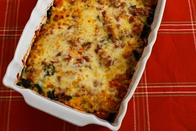 Sausage and Kale Mock Lasagna Casserole (Low-Carb, Gluten-Free) | Rec ...