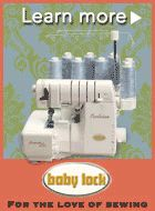 Serger sewing machine threading difference