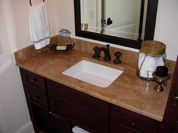 Travertine Countertops : travertine countertops bathroom Granite Bathroom Countertops Gallery ...