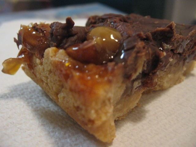 Easy Caramel Turtle Bars | Sweets: Bars | Pinterest