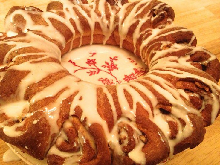 Swedish Tea Ring | Recipes - Donuts, sweet breads, muffins | Pinterest