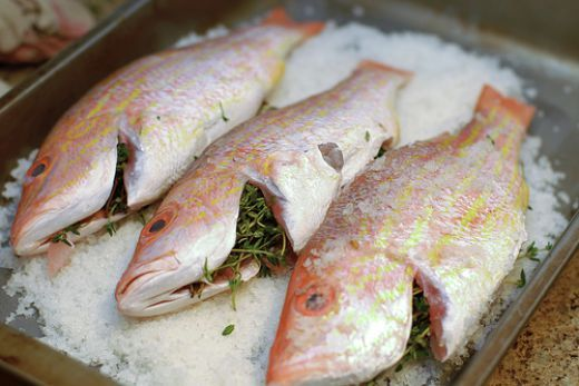 Salt Crusted Red Snapper - How to Roast Fish with a Salt Crust