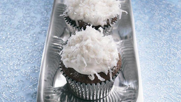 Snowball Cupcakes | Recipe