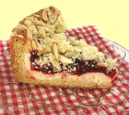 CHERRY AND CREAM CHEESE COFFEE CAKE | food and drink | Pinterest