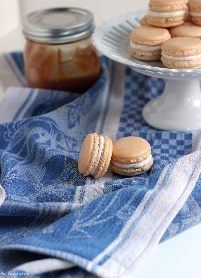 Salted Caramel Apple Cinnamon Macarons | Candy and other misc dessert ...