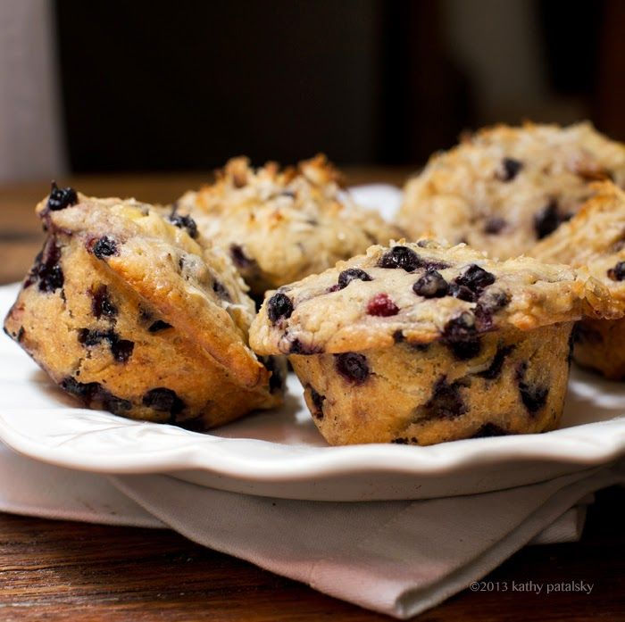 Double Coconut Blueberry Muffins | Sweet Breads & Muffins | Pinterest
