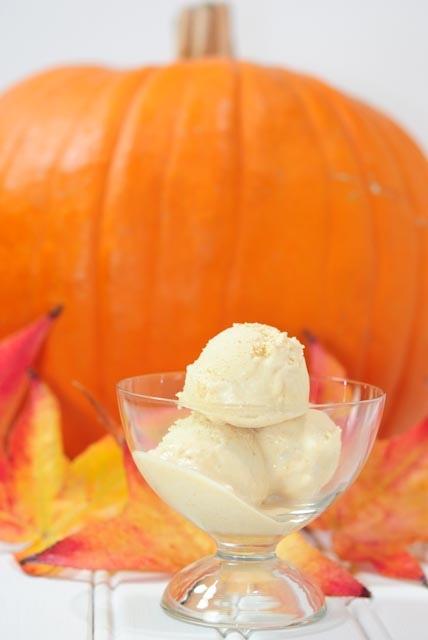 Cinnamon Pumpkin Cheesecake Ice Cream | Everything Pumpkin | Pinterest