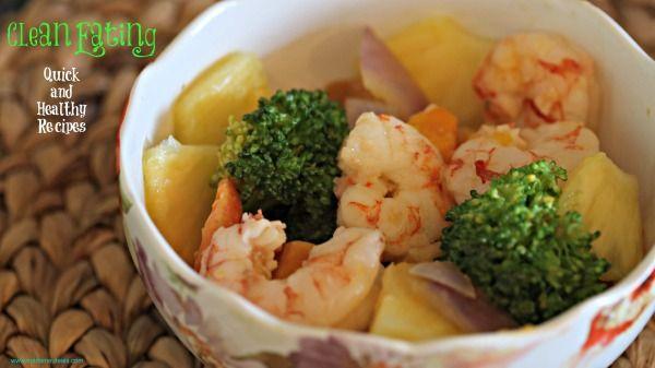 Shrimp Clean Eating Recipe http://madamedeals.com/shrimp-clean-eating-recipe/ #loseweight #recipes #inspireothers