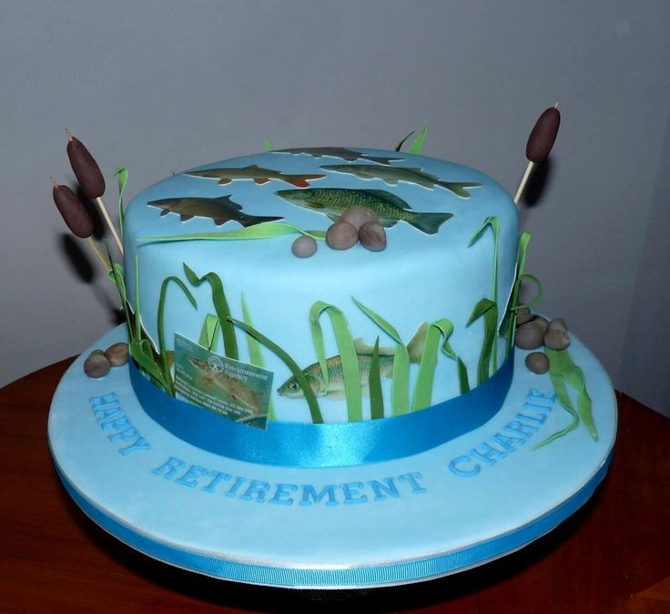 Fishing retirement party cake ideas 72507 fishing retireme for Fishing cake ideas