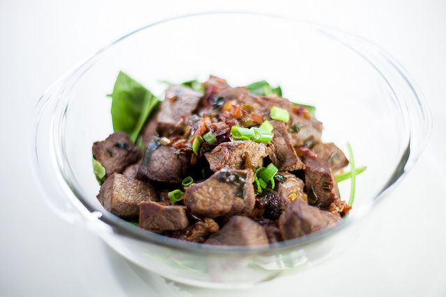 Bo Luc Lac, Vietnamese Shaking Beef | Writing with My Mouth Full Reci ...