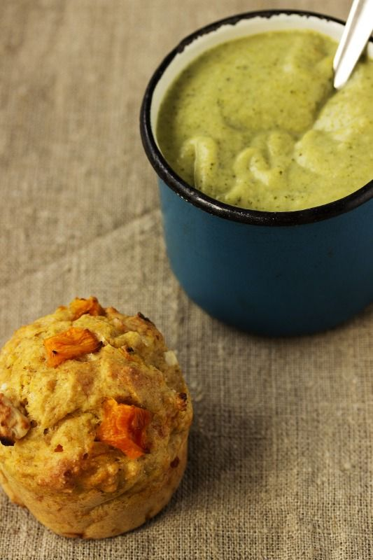 ... cream soup with pumpkin and feta muffins make today s plat du jour