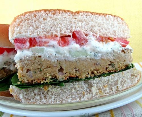falafel burger with feta sauce!!!! | food city, sister | Pinterest