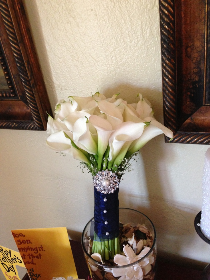 Homemade Wedding Bouquets Ideas : Homemade bridal bouquet wedding