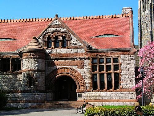 H h richardson library architecture historique for Richardson architect
