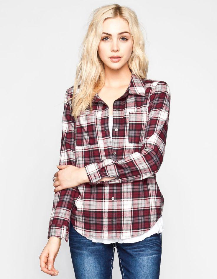 full til womens boyfriend flannel shirt fashion pinterest