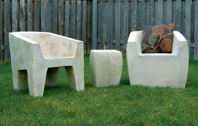 Lightweight Outdoor Furniture Concrete Sculpture Pinterest