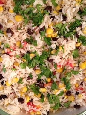 Fiesta Lime Rice | good eats | Pinterest