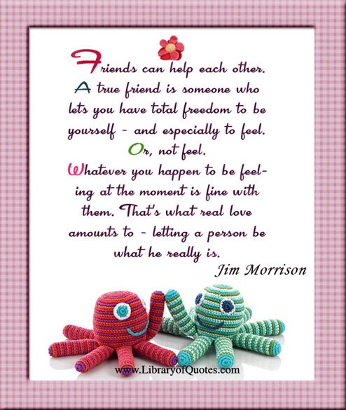 Quotes About Friends Supporting Each Other : Friends helping each other quotes quotesgram
