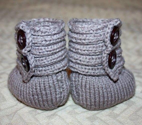 Knit Ugg Booties Pattern Nanomat Master