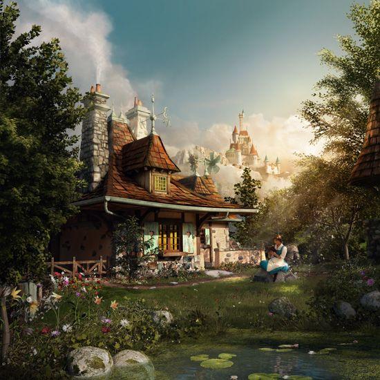 New fantasyland at walt disney world disney pinterest
