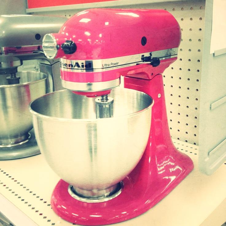 Pinterest discover and save creative ideas - Flamingo pink kitchenaid mixer ...
