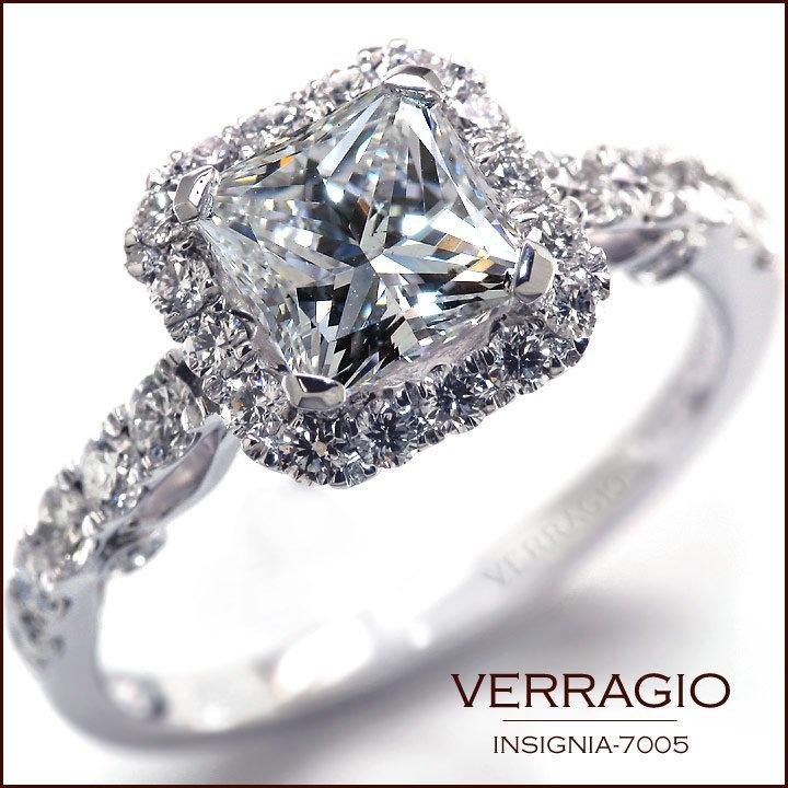 Verragio engagement rings princess cut