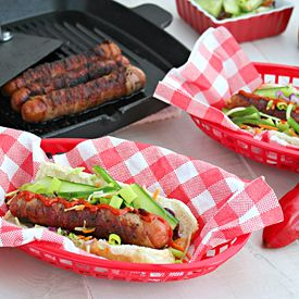Banh Mi Bacon Wrapped Hot Dog | Burgers and Wraps | Pinterest