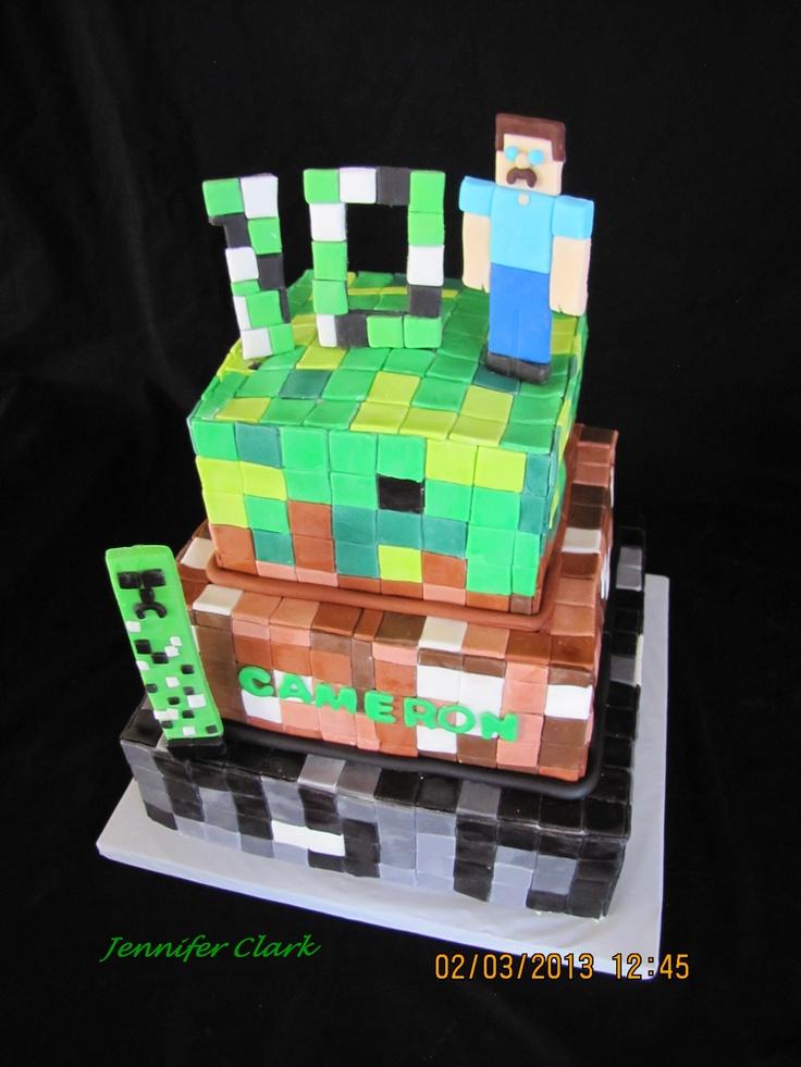Edible Cake Images Minecraft : Pinterest