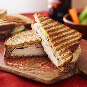Cuban Chicken Panini: Prepare Grilled & Ready® Chicken Breast Fillets ...
